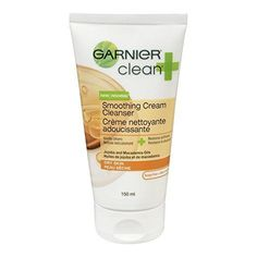 Garnier Clean+ Smoothing Cream #acneremediesfast