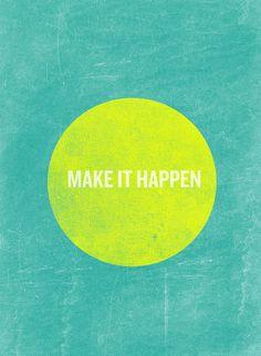 Make or let? Let it happen - Jimmy Eat World