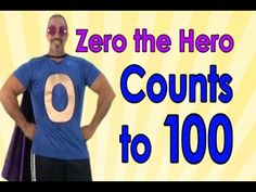 Zero the Hero helps kids exercise and learn to count to 100. This is a great song to engage your children in movement and practicing how to count to 100. Als...