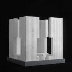 Castrum, Neuss 1990, Architekt O.M. Ungers