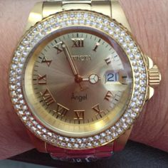 Watch Invicta Women's brand NEW!!!! Beautiful Watch Invicta Angel Water Resistant 200M All Stainless Steel Swiss Parts Movement  Never Used Retail Price 265+ tax Bundle and Save I'm Shipping Fast!!! Invicta Accessories Watches