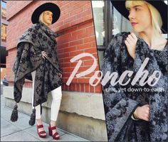 Tutorial: Sweater knit poncho