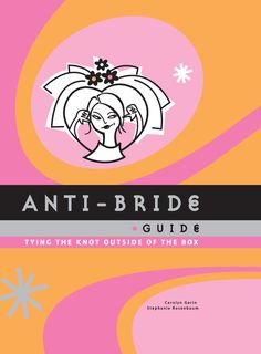 Into a sea of pearl white and pale blue comes the hot pink and orange Anti-Bride Guide. The perfect book for anyone alienated by the high-brow wedding industry, this practical guide fills a huge gap in the wedding planner market. A riot to read and filled with sassy illustrations, each chapter offers up fabulous advice and unusual ideas for those brides looking for more than the standard fare. Hundreds of fantastic tips give great insider advice on how to deal with any and all wedding…
