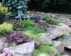 rustic rock wall, curb appeal, gardening, landscape, outdoor living