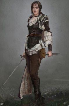 tumblr_np13l3UDeF1sazby5o10_1280.jpg (916×1410) -Looks like Arya Stark as an adult