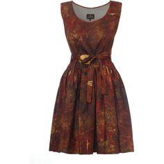 Vivienne Westwood Vivienne Westwood Gabion Dress ($370) ❤ liked on Polyvore