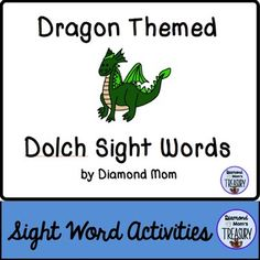 This set includes all 220 Dolch words and is in both color and black and white. It was inspired by the Chinese New Year zodiac. It can be played anytime.Dragon Sight Word Memory GameThe game is played as a typical memory game. You will need to make 2 copies of each sheet in order to do the matching.Dragon Sight Word Flash CardsUsing the same templates, practice the sight words in pairs or in sets.
