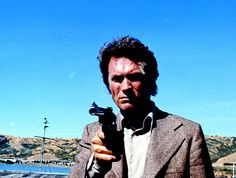 Cimino got his big break co-scripting this gripping installment in the Dirty Harry series. Eastwood Movies, Clint Eastwood, Magnum Force, Pulp Art, The Man, 1970s, Actors, Fictional Characters, Movies