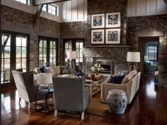 Creative Inspiration  6 Rustic Modern Living Room Ideas