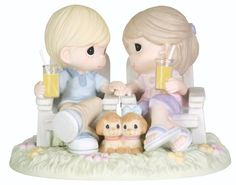 "Precious Moments ""Always Be By My Side"" Figurine: Wedding anniversary gift"