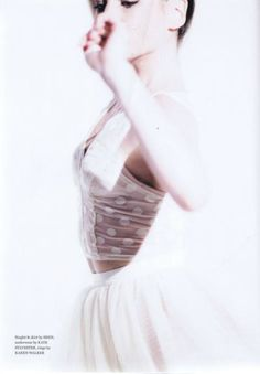 ABIGAIL BOYLE of the Royal New Zealand Ballet wearing the Tip Top Bra and Tulle Skirt