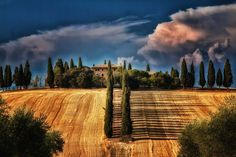 tuscany, Italy. a little bit dramatic