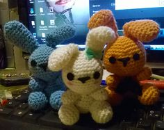 #bunnies #lovely #animal #amigurumi #crochet