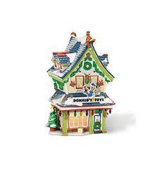 Department 56® Disney® Village: Donald's Toy Shop