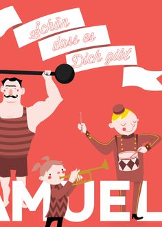 #circus #illustration by Frère