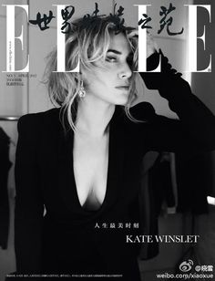 Kate Winslet Covers ELLE China April 2012