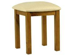 Essentials Pine Dressing Stool £39.60