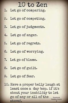 Many have repinned this...I hope all will follow it's wisdom for a more peaceful existence♥
