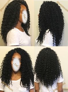 crochet braid crochet braids i Curly Crochet Hair Styles, Crochet Braid Styles, Curly Hair Styles, Natural Hair Styles, Curly Crochet Braids, Straight Hair Crochet Styles, Freetress Crochet Braids, Black Girl Braids, Girls Braids