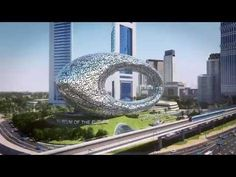 Dubai's Museum Of The Future Looks Like A Giant Promise Ring Covered In Poetry   Co.Design   business + design