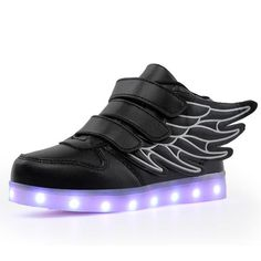 Quality 7 Colors Boys Girls LED Shoes