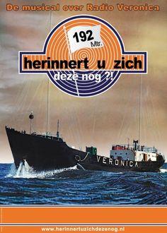 Zendschip, Radio Veronica. https://de.pinterest.com/wim45/nostalgie/