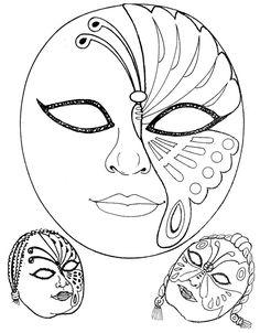 Mascaras de Carnaval para Imprimir (foto:divulgação)                                                                                                                                                      Mais