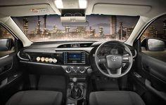 New Toyota Hilux Revo 2015 Interior