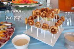 Ice Cream Before Dinner: Mini Buttermilk Cinnamon Bun Pops