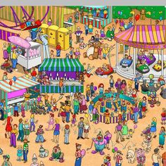 playing wheres wally instead of studying.. procrastination of note... and a childhood flashback :)