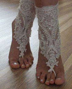 Enfeite para os pés.