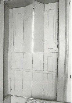 Georgian interior shutter-rustic