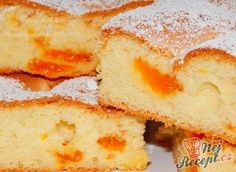 My favorite sponge cake from the sheet metal Top-Rezepte.de My favorite sponge cake from the sheet metal Top-Rezepte. Czech Recipes, Ethnic Recipes, Torte Cake, Strudel, Sponge Cake, Cake Cookies, Cornbread, Biscuits, Sandwiches