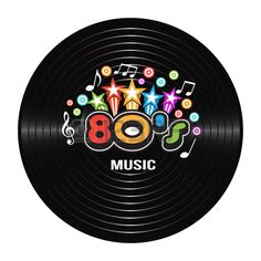Illustration of Music discography. Vector Illustration vector art, clipart and stock vectors.