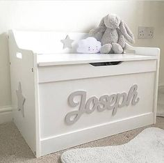 16 Best Personalised Toy Box Images