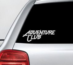 awesome Adventure Club Edm Dance Music Vinyl Decal Sticker