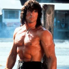 Sylvester Stallone in a scene from the film 'Rambo III', Get premium, high resolution news photos at Getty Images Jackie Stallone, Frank Stallone, Sage Stallone, Sylvester Stallone Rambo, Stallone Rocky, Celebrity Fitness, Celebrity Workout, Rambo 3, John Rambo