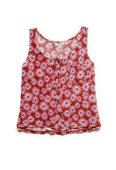 Buttoned Daisy Tank (Kids) | FOREVER21 girls - 2000068587