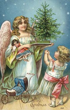 More angels vintage-christmas-pictures p / decoupage    Steph Note:  several here