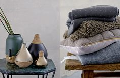 Texture, mixed materials and a moody colour palette with dusky pinks trend for Autumn/Winter 2015. Also: CORK!