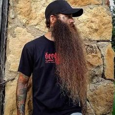 Maybe its the beard! Find Your True North! Long Beard Styles, Best Beard Styles, Hair And Beard Styles, Beard Boy, Beard Gang, Beard No Mustache, Beards And Mustaches, Moustaches, Badass Beard