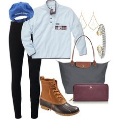 A fashion look from January 2015 featuring Helmut by Helmut Lang leggings, Longchamp tote bags and Tory Burch wallets. Browse and shop related looks.
