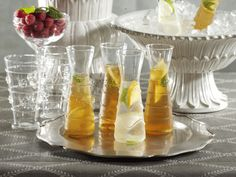 Raised Design Individual Carafes - Set of 6  $54 for an assortment of six