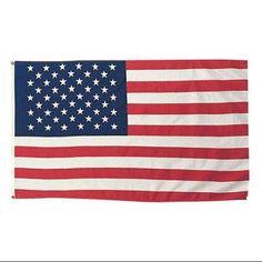 インテリアにも!!人気の国旗ValleyForgeアメリカ星条旗国旗【91.4cmx152.4cm】PolycottonU.S.FlagPOLYCOTTONUSFLAG