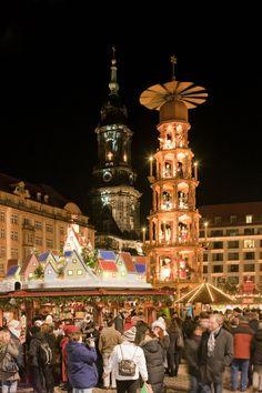 Dresden Christmas Market - Copyright Sylvio Dittrich. More Christmas Markets on @ebdestinations