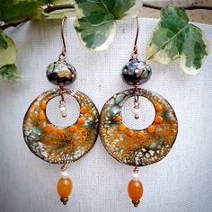 Earrings Everyday: Serendipity Metal Jewelry, Beaded Jewelry, Head Pins, How To Make Earrings, Designer Earrings, Serendipity, Bead Weaving, Beaded Embroidery, How To Introduce Yourself