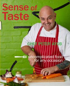 Sense of taste - icon chef Peter Ayub holds back nothing - His food is easily prepared and has great taste without any confusing and clashing flavours. Chapters includes; chicken, beef, pork, lamb, venison, fish, vegetables, fruit, dairy and organic produce.