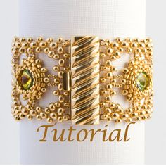 Beaded Bracelet Tutorial Picante Digital Download by JewelryTales