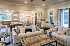 Marvelous Farmhouse Style Living Room Design Ideas 58