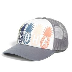 006ade1a0ea9c Women s Rip Curl Tropical Fruit Twill Cap ( 22) ❤ liked on Polyvore  featuring accessories